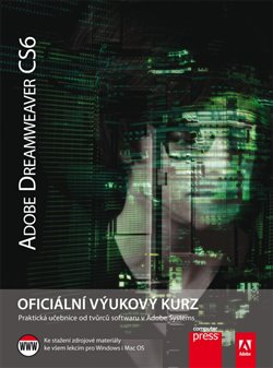 Obálka titulu Adobe DreamWeaver CS6