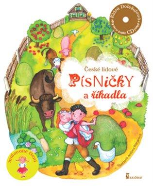 České lidové písničky a říkadla:+ CD Kláry Doležalové - -   Booksquad.ink