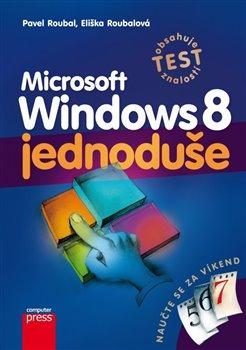 Obálka titulu Microsoft Windows 8  jednoduše