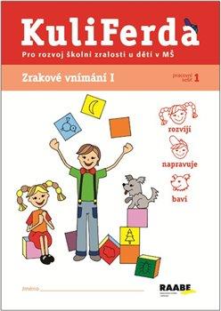 Obálka titulu Kuliferda. Zrakové vnímání I. pro rozvoj školní zralosti u dětí v MŠ
