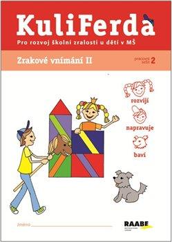 Obálka titulu Kuliferda. Zrakové vnímání II pro rozvoj školních zralostí u dětí v MŠ