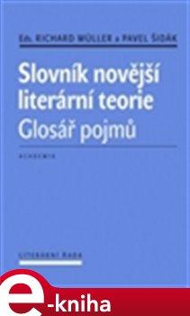 Obálka titulu Slovník novější literární teorie