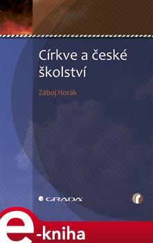 Obálka titulu Církve a české školství