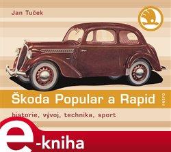 Obálka titulu Škoda Popular a Rapid