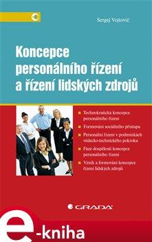 Obálka titulu Koncepce personálního řízení a řízení lidských zdrojů