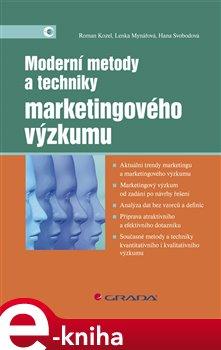 Obálka titulu Moderní metody a techniky marketingového výzkumu