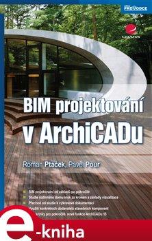 Obálka titulu BIM projektování v ArchiCADu