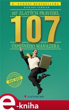 Obálka titulu 107 zlatých pravidel úspěšného manažera