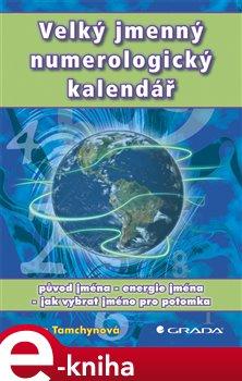 Obálka titulu Velký jmenný numerologický kalendář