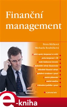 Obálka titulu Finanční management