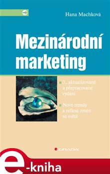 Obálka titulu Mezinárodní marketing