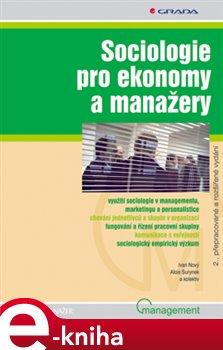 Obálka titulu Sociologie pro ekonomy a manažery