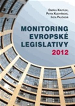Obálka titulu Monitoring evropské legislativy 2012