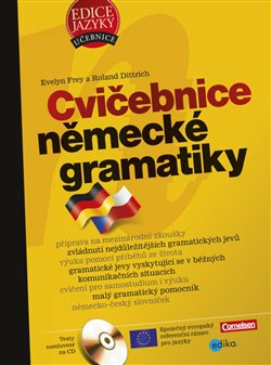Obálka titulu Cvičebnice německé gramatiky