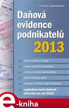 Obálka titulu Daňová evidence podnikatelů 2013
