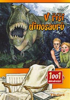 Obálka titulu V říši dinosaurů