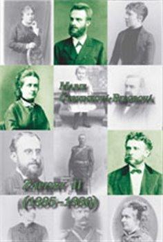 Obálka titulu Zápisky II. (1885-1886)