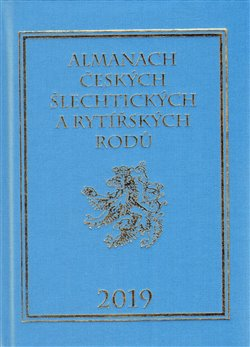 Obálka titulu Almanach českých šlechtických a rytířských rodů 2019