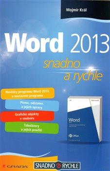 Obálka titulu Word 2013