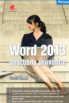 Obálka titulu Word 2013 - podrobný průvodce
