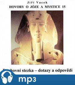 Obálka titulu Hovory o józe a mystice 15.