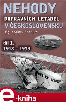 Obálka titulu Nehody dopravních letadel v Československu