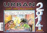 Kalendář Urban 2014 - Dobrý karty přeje Pivrnec!