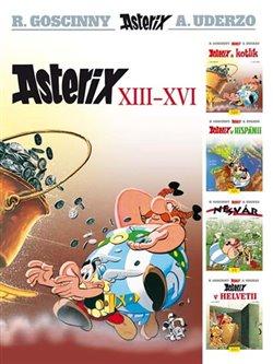 Obálka titulu Asterix XIII. - XVI.