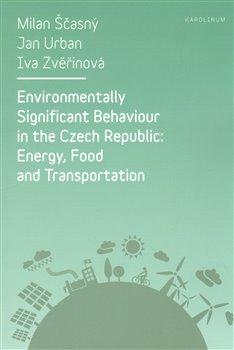 Obálka titulu Environmentally Significant Behaviour in the Czech Republic
