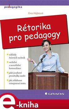 Obálka titulu Rétorika pro pedagogy