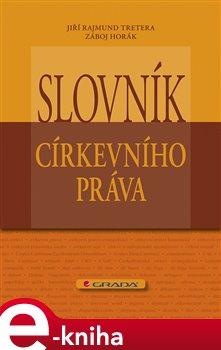 Obálka titulu Slovník církevního práva