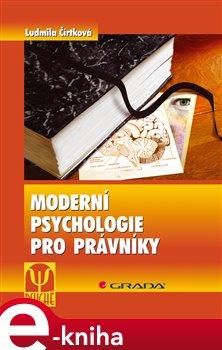 Obálka titulu Moderní psychologie pro právníky