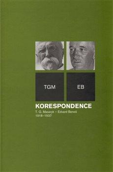 Obálka titulu Korespondence T. G. Masaryk – Edvard Beneš 1918–1937