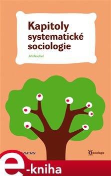 Obálka titulu Kapitoly systematické sociologie