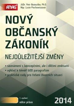 Obálka titulu Nový občanský zákoník 2014
