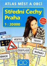 Střední Čechy a Praha 1 : 20 000