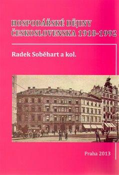 Obálka titulu Hospodářské dějiny Československa 1918-1992