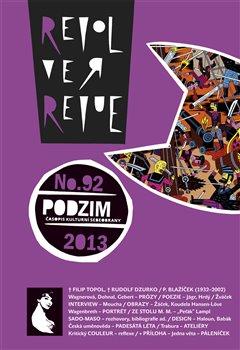 Obálka titulu Revolver Revue 92