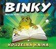 Obálka knihy Binky a kouzelná kniha / Binky and the Book of Spells