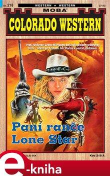 Obálka titulu Paní z ranče Lone Star