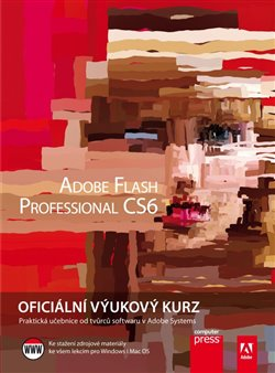 Obálka titulu Adobe Flash CS6