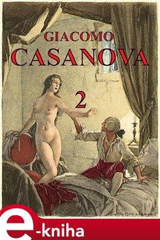 Obálka titulu Paměti Giacoma Casanovy 2