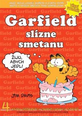 Garfield slízne smetanu:Garfield 4. - Jim Davis   Booksquad.ink