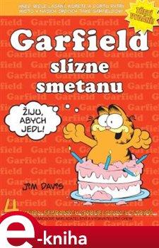 Obálka titulu Garfield slízne smetanu