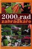 Obálka knihy 2000 rad pro zahrádkáře