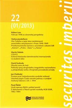 Obálka titulu Securitas Imperii 22 (01/2013)
