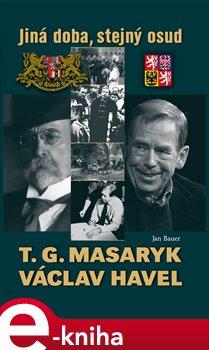 Obálka titulu T. G. Masaryk a Václav Havel