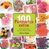 Obálka knihy 100 papírových květin