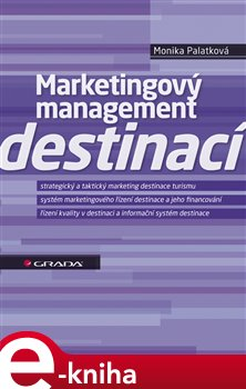 Obálka titulu Marketingový management destinací