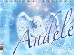 Obálka titulu Andělé 2014- stolní kalendář